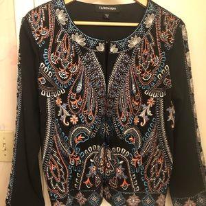 Beautiful Embroidered Bohemian Jacket!